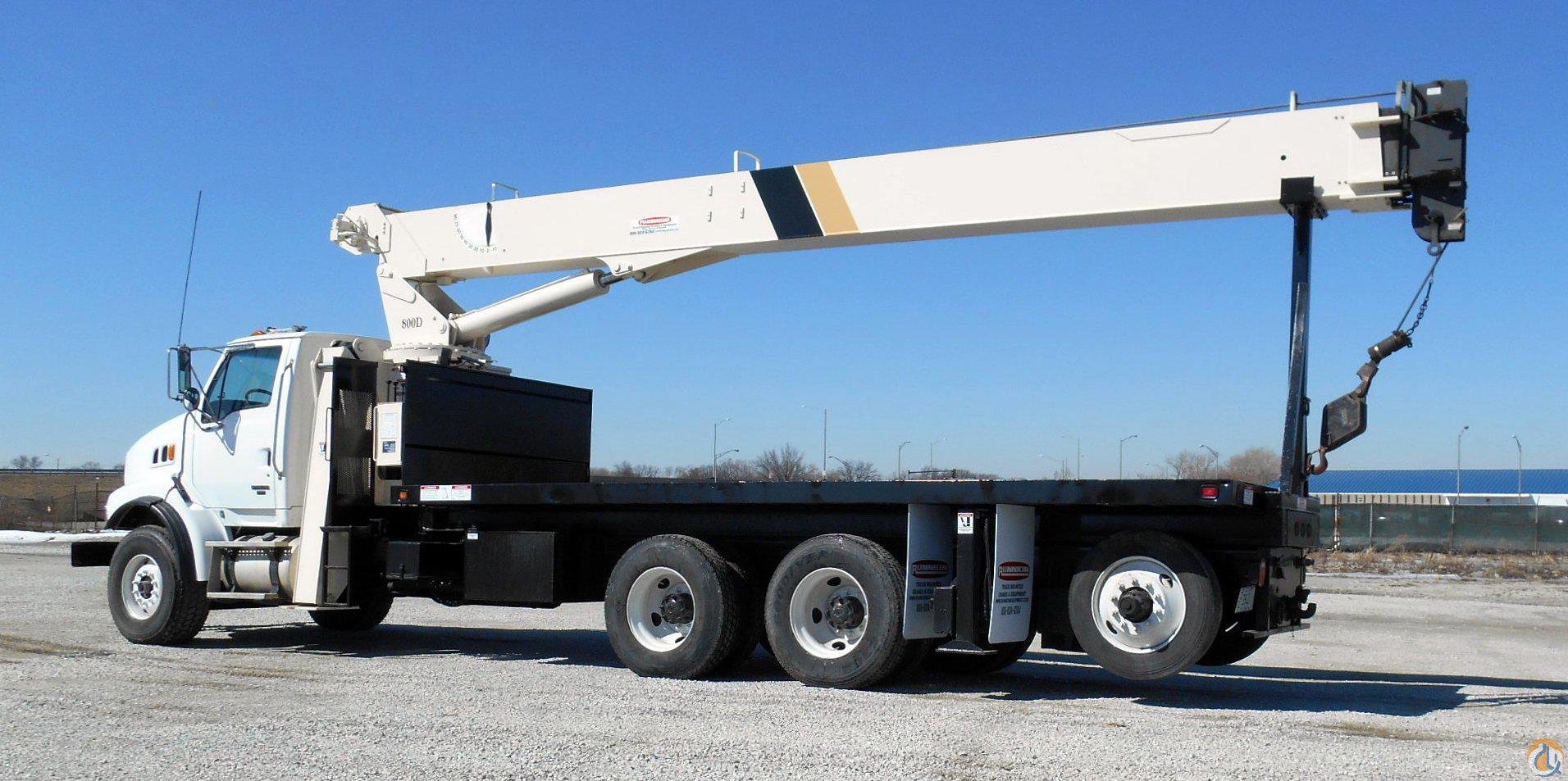 Sterling LT7500 boom truck